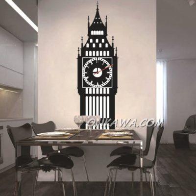 Vinilo reloj Big Ben