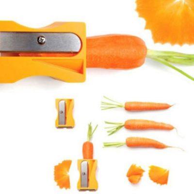 Sacapuntas para zanahoria