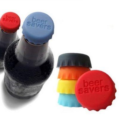 Tapónes de silicona para botellas