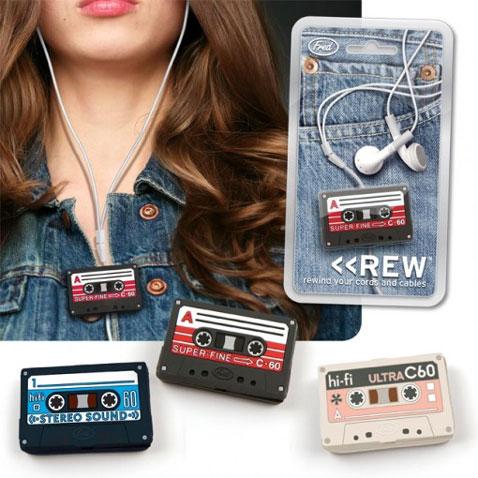 Enrolla auriculares Cassette
