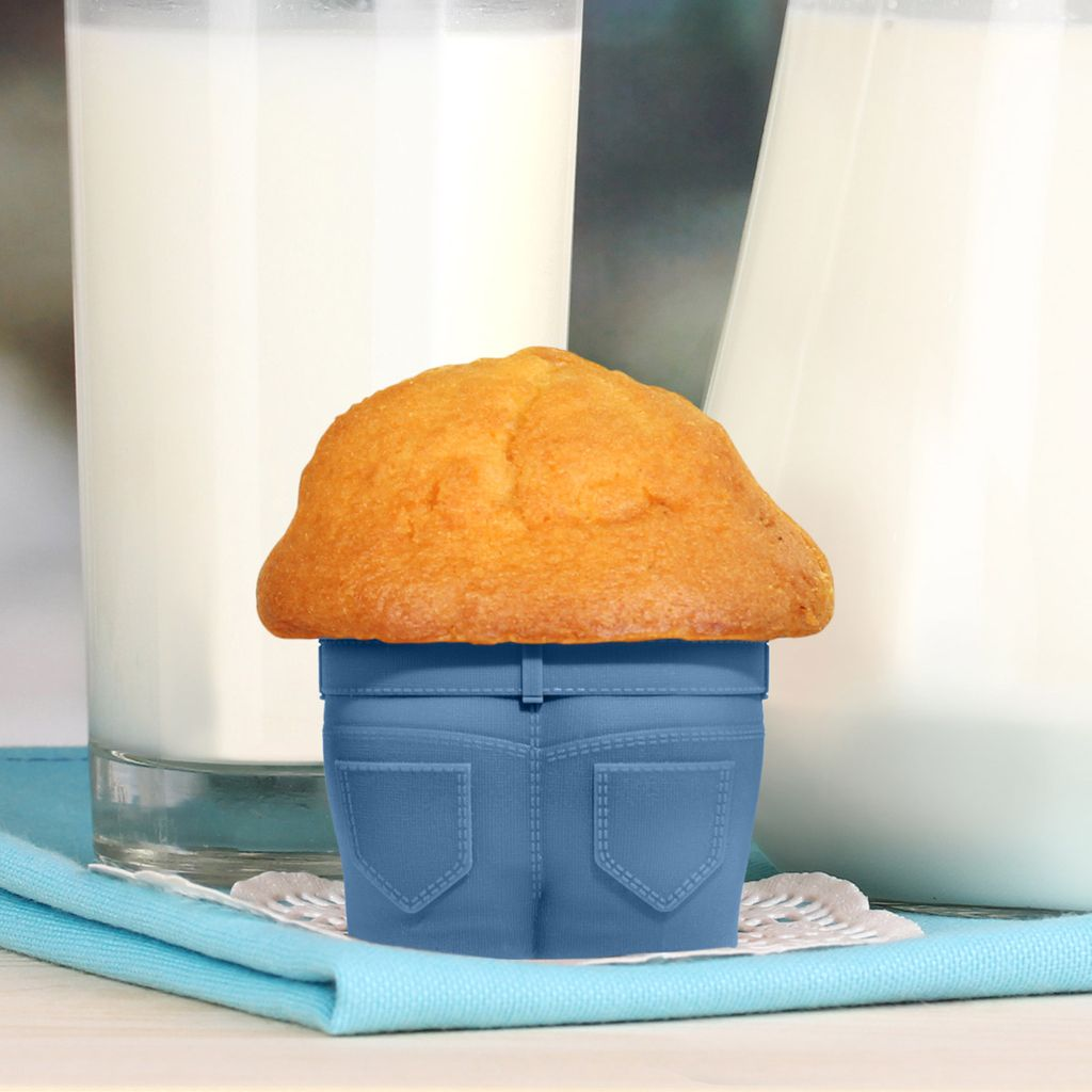 Molde para muffins pantalones