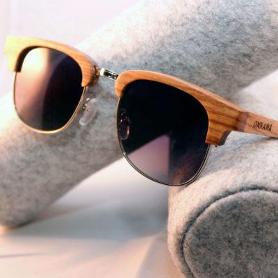 gafas de sol de madera keade