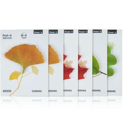 notas adhesivas hojas