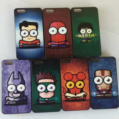 funda iphone superhéroes