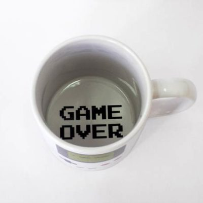 Taza Gameboy