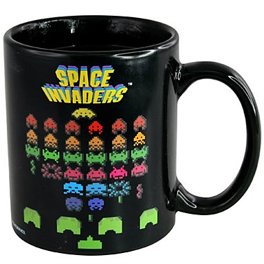 Taza Space Invader