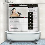 Cortina de ducha YouTube Bathtub